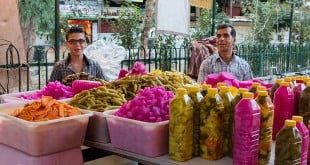 بازار دمشق در ماه مبارک رمضان - سوریه