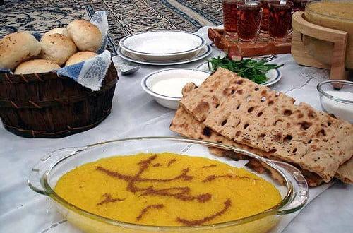 سفره افطار رمضان