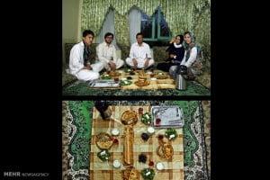 سفره افطاری مسلمانان در ماه مبارک رمضان در کشور های مختلف جهان.