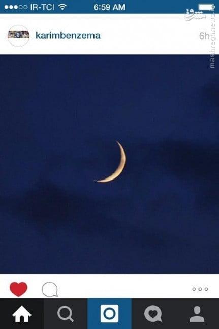 کریم بنزما فرارسیدن ماه رمضان را تبریک گفت