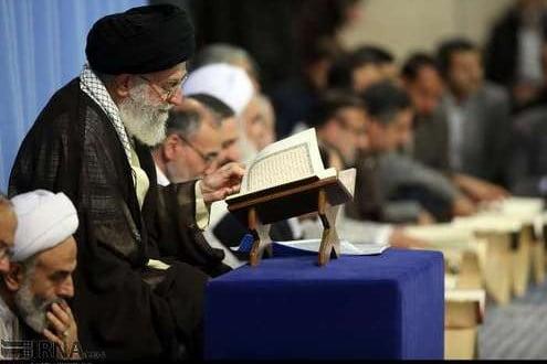 دیدار قاریان قرآن با رهبر انقلاب