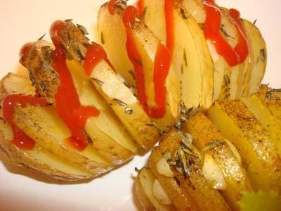 طرز تهیه پیش غذایی با سیب زمینی