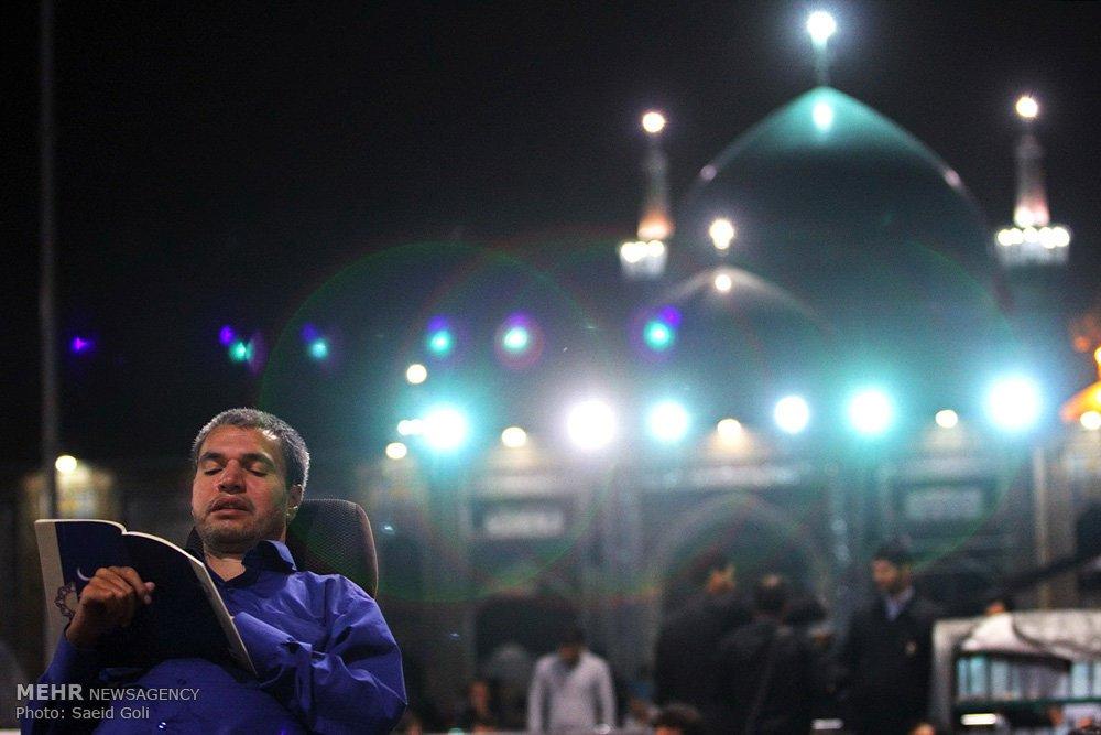 ماه رمضان در حرم مطهر امام رضا (ع)
