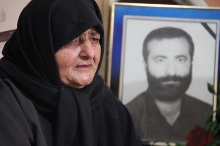 مادر شهید سید جلیل میری ورَکی