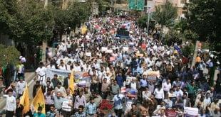 برگزاری راهپیمایی روز جهانی قدس