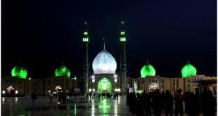 مسجد جمکران - ماه رمضان
