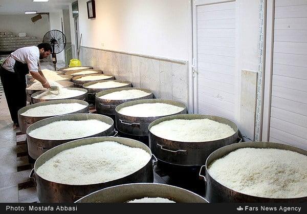 آشپزخانه حرم امام رضا (ع)