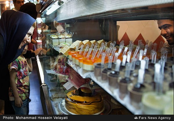 خرید شیرینی شب عید فطر