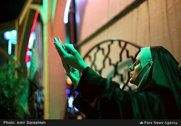 شب بیستویکم رمضان در جوار غواص شهید