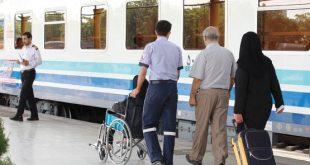 تسهیلات قطارهای رجا به سالمندان ،طرح منزلت در ماه رمضان
