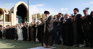 گزیده بیانات رهبر انقلاب در نماز عید فطر: ملت ایران خسته و ناامید نیست