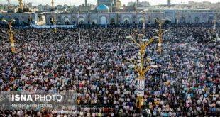 نماز عید فطر در تمام نقاط کشور برگزار شد